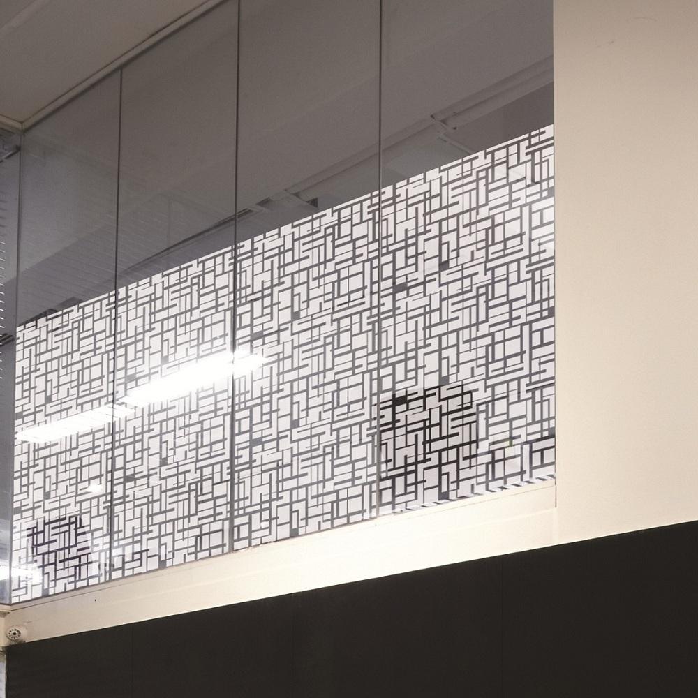 6 56€ m² Design Dekor Fensterfolie Sichtschutzfolie Decorum