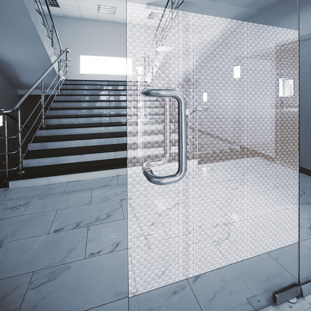 6 56€ m² Design Dekor Fensterfolie Sichtschutzfolie Fontana